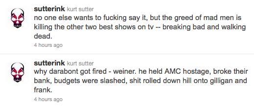 Kurt Sutter Tweets