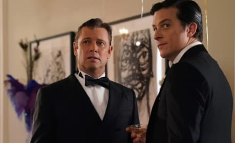Blake and Stephen Scheming - Dynasty Season 2 Episode 1