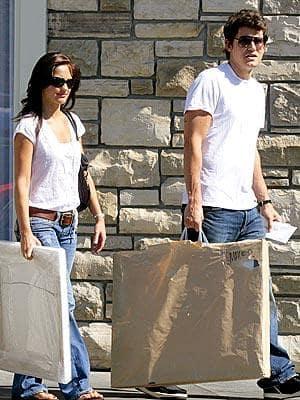 Minka Kelly with John Mayer