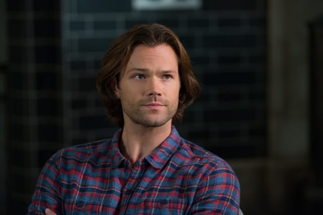 Check out the flannel on this Winchester brother! - Supernatural Season 12 Episode 10