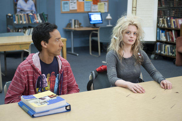 Abed Stares At Britta