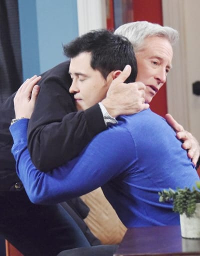 Paul Says Goodbye - Days of Our Lives