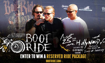 Boot Ride Giveaway: Roll with the Sons of Anarchy Cast!