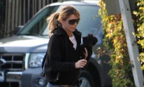 Ellen Dog Walking (Carrying)