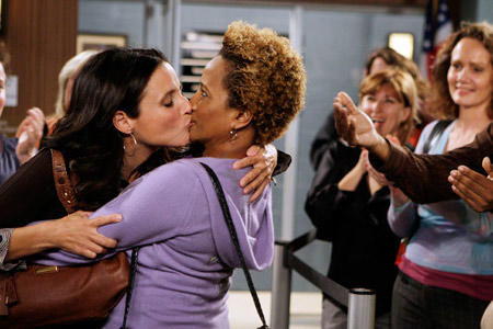 Christine and Barv Kiss!