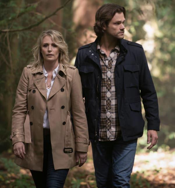 Mary And Sam - Supernatural Season 14 Episode 5