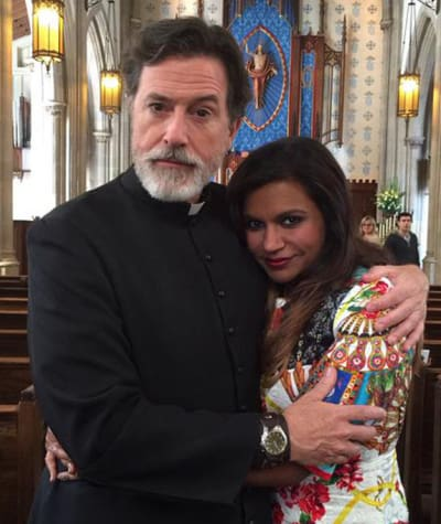 Stephen Colbert on The Mindy Project