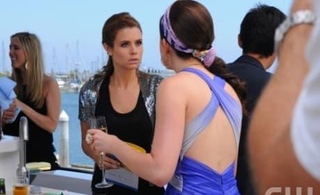 Megan on the Yacht