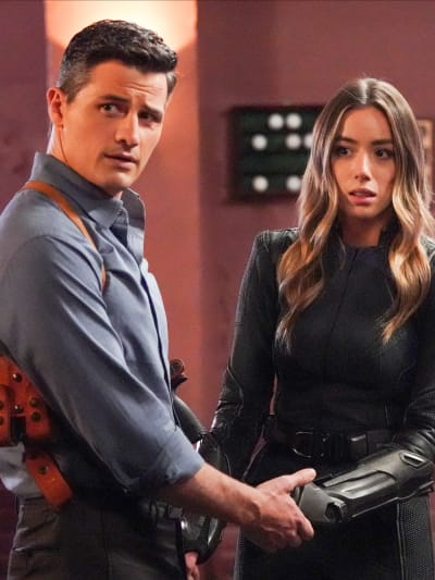 Daisy and Sousa - Agents of S.H.I.E.L.D. Season 7 Episode 13