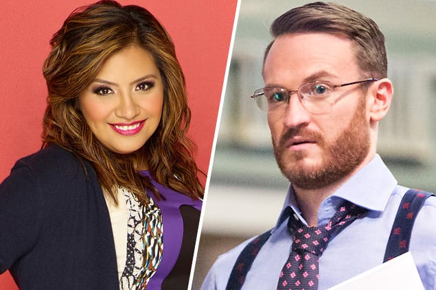 Cristela (Cristela) and Doug (House of Lies)