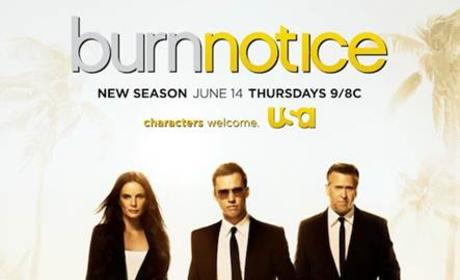 Burn Notice Season 6 Poster