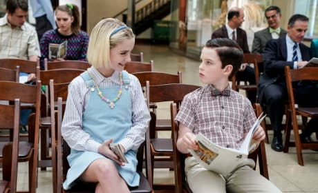Trouble At the Museum - Young Sheldon