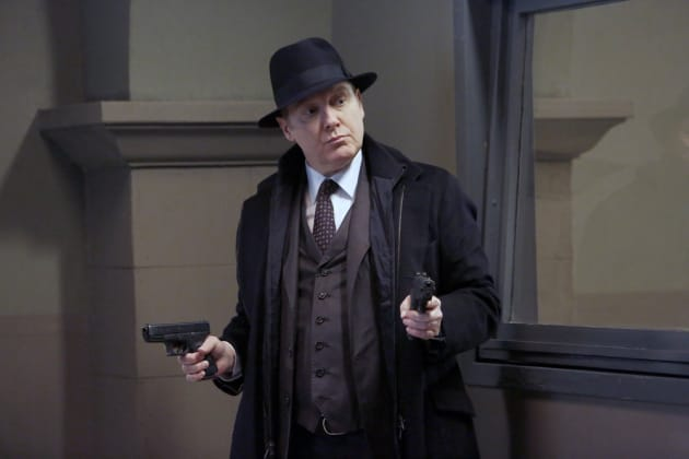 Two guns are better than one - The Blacklist Season 4 Episode 13