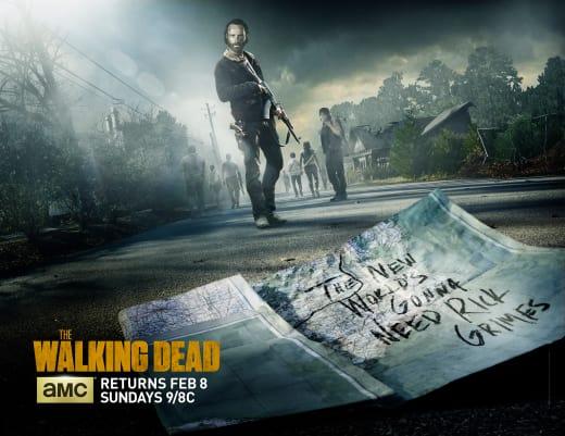 The Walking Dead 5B Key Art