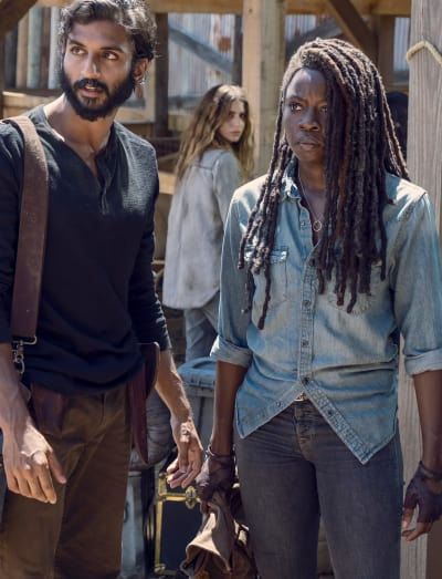 Ears Are Ringing - The Walking Dead Season 9 Episode 8