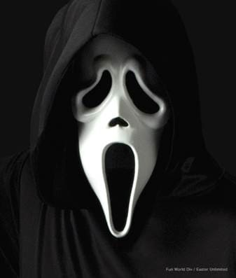 Scream Season 3 Mask