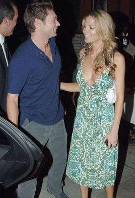 Ryan Seacrest & Shana Wall