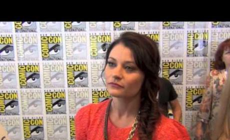 Emilie de Ravin Comic-Con Interview