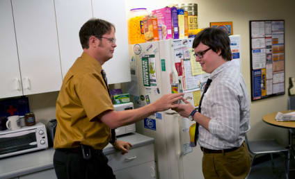 The Office Season Premiere Pic: Welcome, Clark Duke!