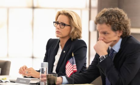 Bess and Jay at Conference - Madam Secretary Season 5 Episode 6