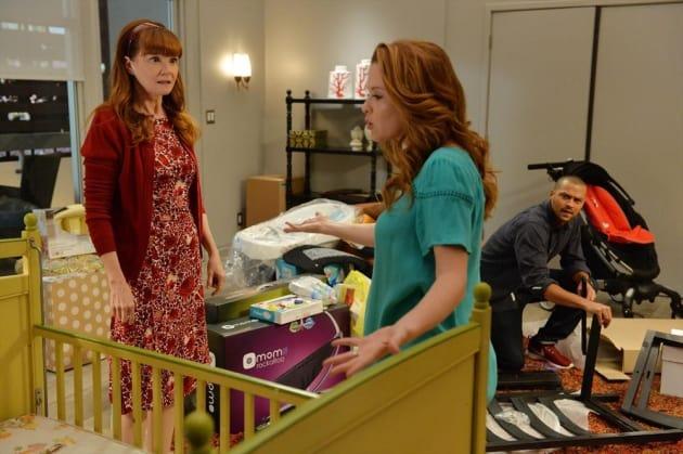 Fighting with Mom - Grey's Anatomy Season 11 Episode 6