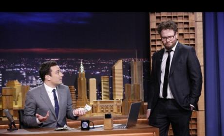 Seth Rogen on The Tonight Show