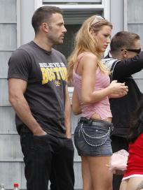 Blake Lively and Ben Affleck