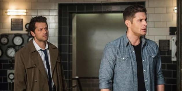 Castiel And Dean - Supernatural Season 13 Episode 23