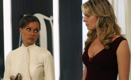 Wilhelmina Meets with Alexis