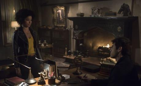 Alec and Maia - Shadowhunters Season 3 Episode 15