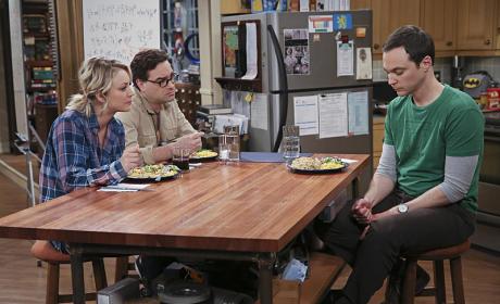 Penny and Leonard Listen - The Big Bang Theory Season 9 Episode 10