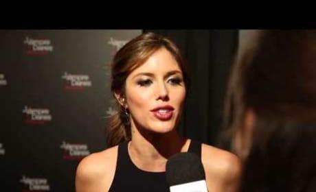Kayla Ewell Red Carpet Interview: Talking TVD!