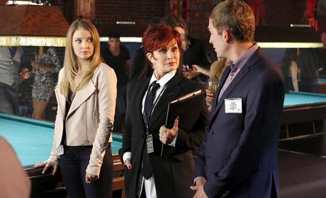 Sharon Osborne Guest Stars - CSI