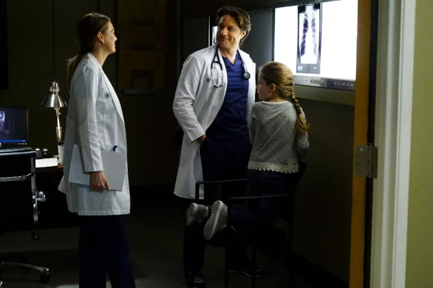 Interruptions  - Grey's Anatomy Season 13 Episode 23