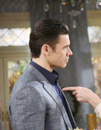 (TALL) Xander Tries to Stay Strong - Days of Our Lives