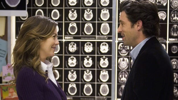 Derek and Meredith - Grey's Anatormy