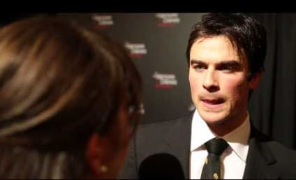 Ian Somerhalder Flashes Back to Favorite Vampire Diaries Scene, Dancing in Underwear