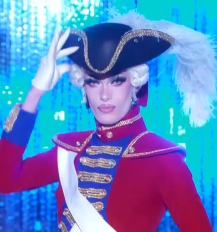 Gigi Goode Political Outfit - RuPaul's Drag Race Season 12 Episode 9
