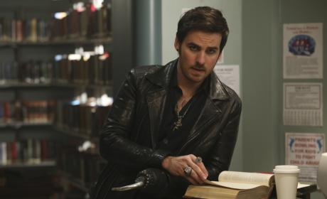 Read Me a Story, Captain Hook - Once Upon a Time Season 6 Episode 9