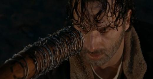 Rick gets the bat - The Walking Dead