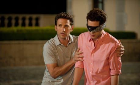 Blindfolded Evan