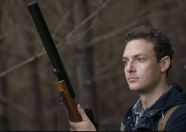 Aaron with a Gun - The Walking Dead Season 5 Episode 13