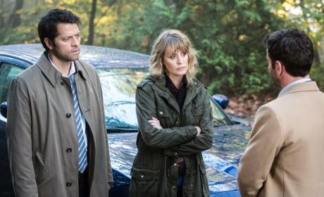 Mary is unimpressed - Supernatural Season 12 Episode 9