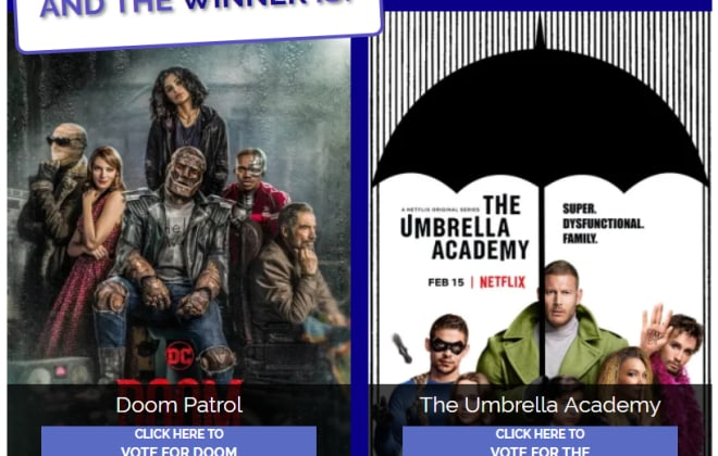 Doom Patrol vs The Umbrella Academy Poll: What Are You Watching?