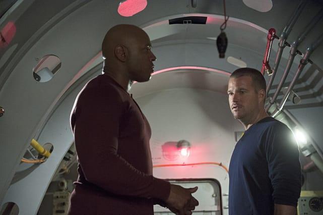 Sam and Callen at a Loss
