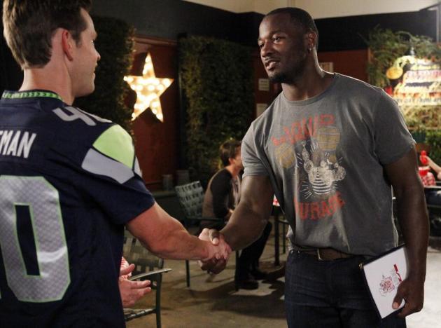 Travis Meets His Hero