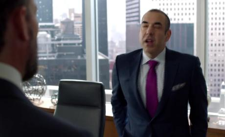 Suits Season 5 Episode 2 Clip: Harvey's New Nemesis?