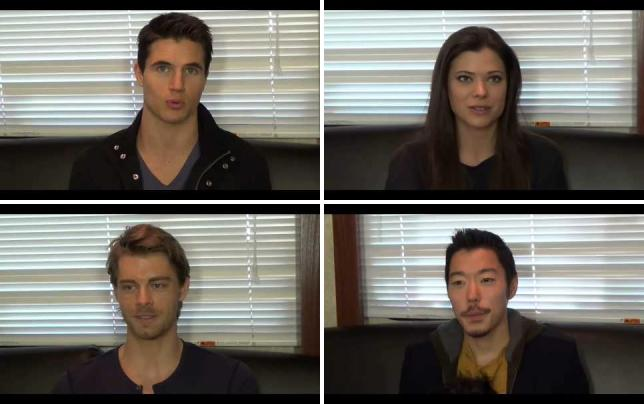 Robbie amell set q and a