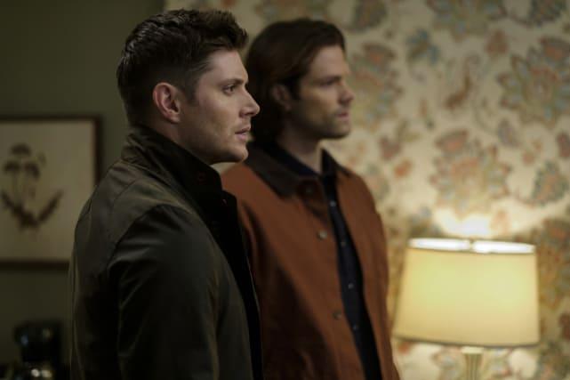 A look of surprise - Supernatural Season 12 Episode 19