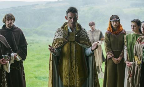 Bishop Heahmund - Vikings Season 4 Episode 20